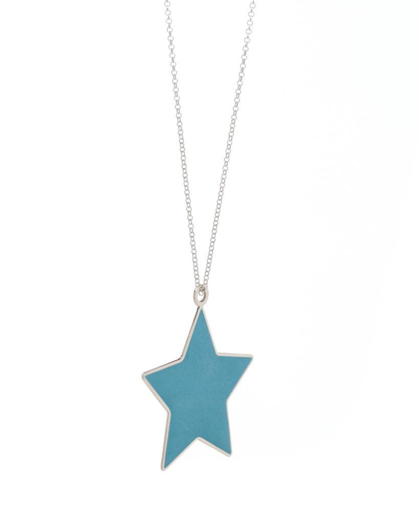 Stella grande azzurra