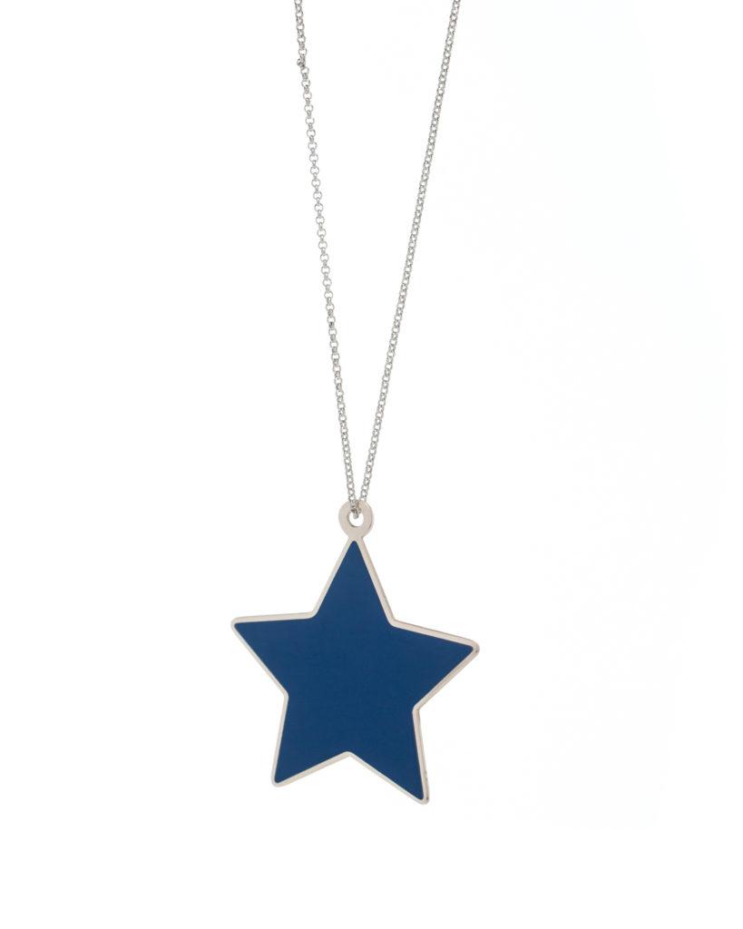 Stella grande blu