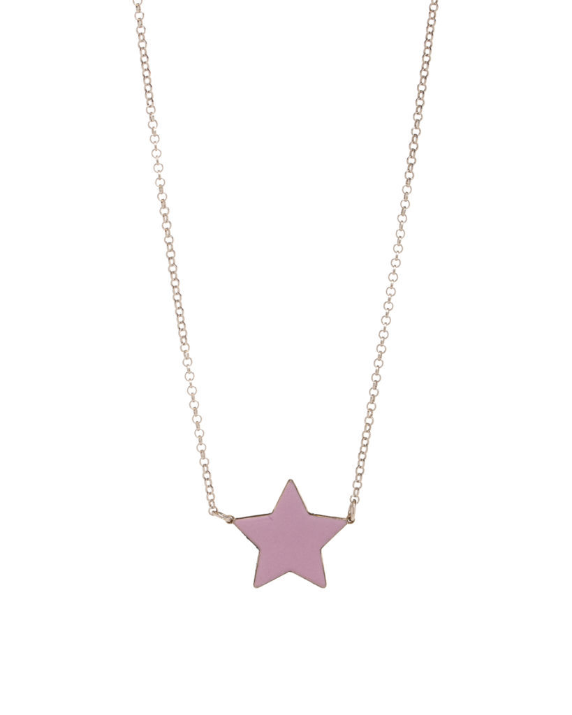 Stella media oro rosa