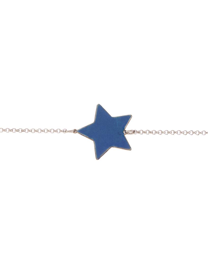 Bracciale stella blu
